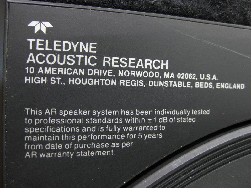 Acoustic research AR-92 2.jpg