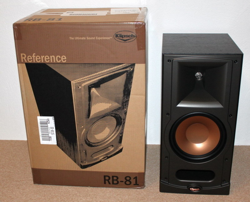 klipsch reference rb 81 hifi. Black Bedroom Furniture Sets. Home Design Ideas